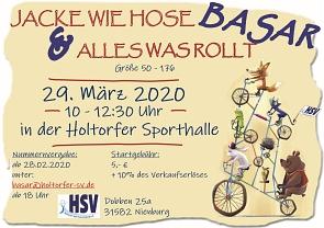 Basar 29.03.2020©Holtorfer Sportvereinigung