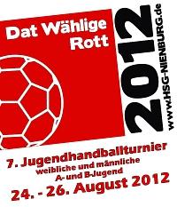 """Dat Wählige Rott"" Logo"