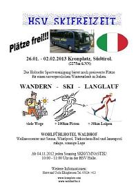 HSV-Skifreizeit